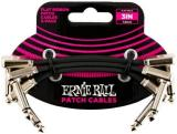Ernie Ball Flat Ribbon Patch Cable - 3-Pack