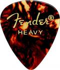 Fender 351 Shape Classic Guitar Picks - Heavy - Shell (Pack of 12)
