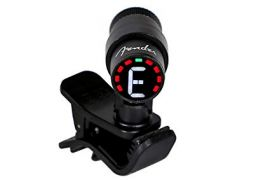 Fender Bullet Guitar and Bass Tuner - Black