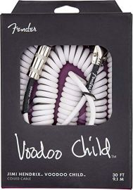 Fender Hendrix Voodoo Child Cable - White (30ft)