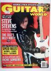 Guitar World Magazine - Oct 89 - Steve Stevens