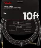 Fender Deluxe Series Angled Cable - Black Tweed